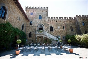 blessing italy wedding castle