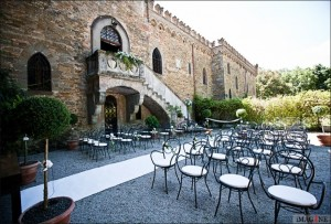 ceremony wedding italy castle borgia