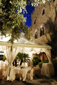 wedding gazebo italy castle tuscany umbria il borgia