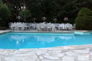 castle swimmingpool wedding italy castle borgia