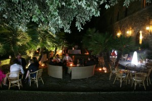 dancing floor wedding italy castle borgia