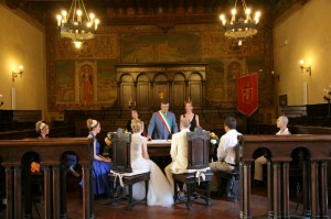 wedding cortona townhall civil ceremony wedding in italy castle borgia