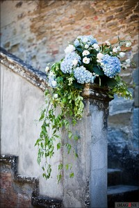 wedding florist italy wedding castle borgia