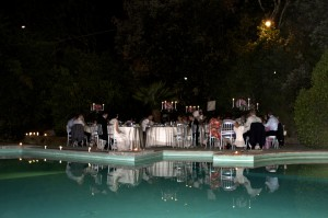 wedding water pool lake trasimeno castle borgia